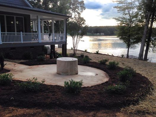Lake Wylie Landscape and Lawn design and installation