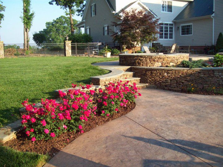 Landscape and Patio Design Lake Wylie South Carolina